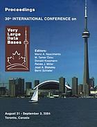 Proceedings of the Twenty-ninth International Conference on Very Large Databases, Berlin, Germany, 9-12 September, 2003