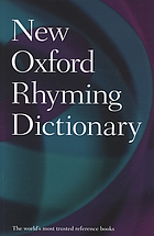 New Oxford rhyming dictionary.