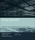 Using OpenMP : portable shared memory parallel programming