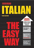 Italian the easy way