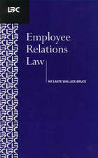 Employee relations law