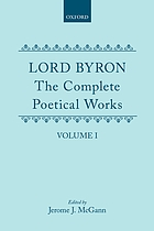The complete poetical works / Vol. 1.