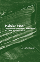 Plebeian Power : Collective Action and Indigenous, Working-Class and Popular Identities in Bolivia.