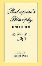 Shakespeare's philosophy unfolded