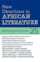 New directions in African literature : a review