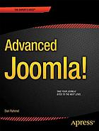 Advanced Joomla!