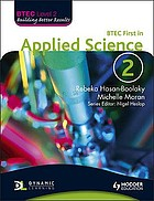 BTEC First in applied science. Book 2