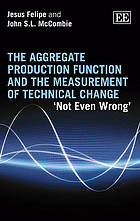 The aggregate production function and the measurement of technical change : 'not even wrong'