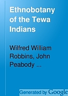 Ethnobotany of the Tewa Indians