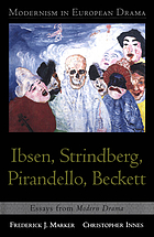 Modernism in European drama : Ibsen, Strindberg, Pirandello, Beckett : essays from Modern drama