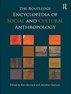 Routledge encyclopedia of social and cultural anthropology Book Cover