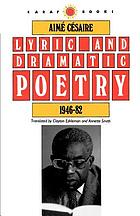Lyric and dramatic poetry, 1946-82