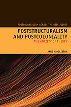 Poststructuralism and postcoloniality : the anxiety of theory