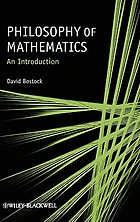Philosophy of mathematics : an introduction