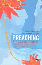 Preaching with all our souls : a study in hermeneutics and psychological type