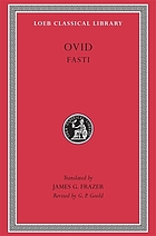 Ovid in six volumes.
