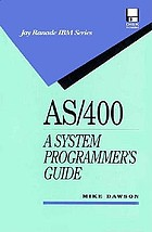 AS/400 : a systems programmer's guide