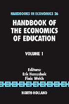 Handbook of the economics of education. 1.