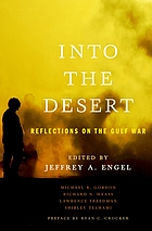 Into the desert : reflections on the Gulf War