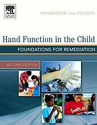 Hand function in the child : foundations for remediation