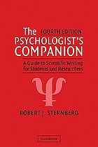 The psychologist's companion : a guide to scientific writing for students and researchers