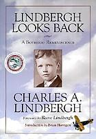 Lindbergh looks back : a boyhood reminiscence