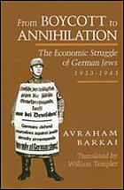 From boycott to annihilation : the economic struggle of German Jews, 1933-1943