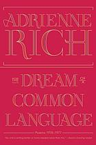 The dream of a common language : poems, 1974-1977