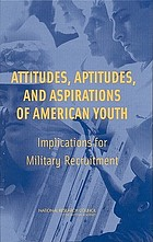 Attitudes, Aptitudes, and Aspirations of American Youth : implications for military recruiting