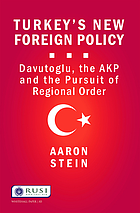 Turkey's New Foreign Policy : Davutoglu, the AKP and the Pursuit of Regional Order