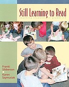 Still learning to read : teaching students in grades 3-6