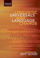 Linguistic universals and language change