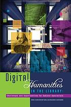 Digital humanities in the library : challenges and opportunities for subject specialists