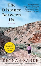 The distance between us : a memoir