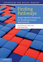 Finding pathways : mixed-method research for studying causal mechanisms