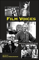 Film voices : interviews from Post script