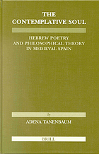 The contemplative soul : Hebrew poetry and philosophical theory in medieval Spain