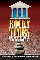 Rocky times : new perspectives on financial stability