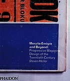Merz to emigre and beyond : avant-garde magazine design of the twenty century