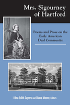 Mrs. Sigourney of Hartford : poems and prose on the early American deaf community