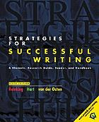 Strategies for successful writing : a rhetoric, research guide, reader, and handbook