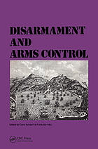 Disarmament and arms control; proceedings.