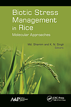Biotic stress management in rice : molecular approaches