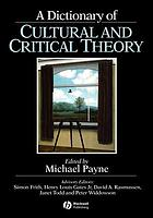 A dictionary of cultural and critical theory