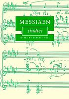 Messiaen studies