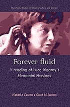 Forever fluid : a reading of Luce Irigaray's Elemental passions