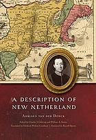 A description of New Netherland