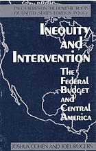 Inequity and intervention : the federal budget and Central America