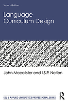 Language curriculum design ebook 2010 worldcat fandeluxe Image collections