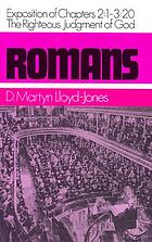 Romans : an exposition of chapters 2:1-3:20, the righteous judgment of God
